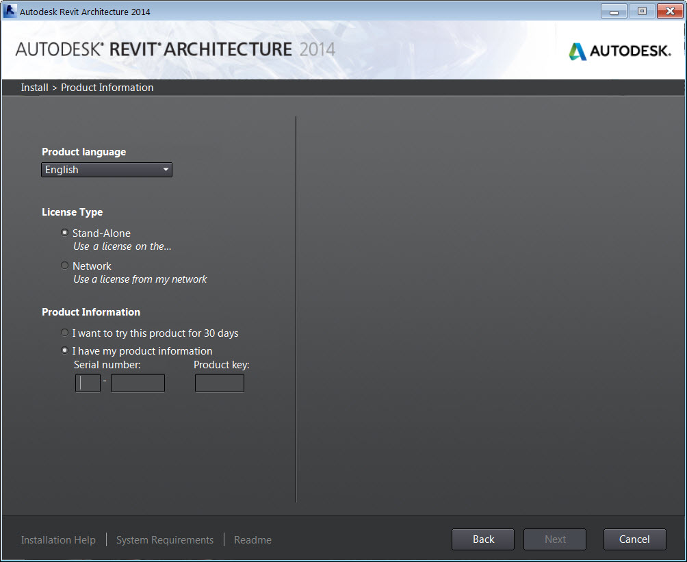 Autodesk revit architecture serial number and product key for Architecte 3d serial number